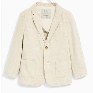Zara Boys Linen Suit